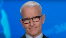 CNN news anchor Anderson Cooper tore into the Trump administration's botched response to the coronavirus pandemic rampaging the nation. (Screen capture via YouTube)