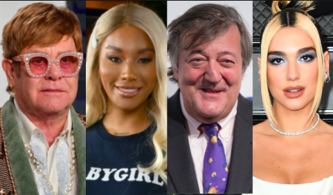 Elton John, Stephen Fry, Munroe Bergdorf and Dua Lipa sign open letter urging government to ban conversion therapy