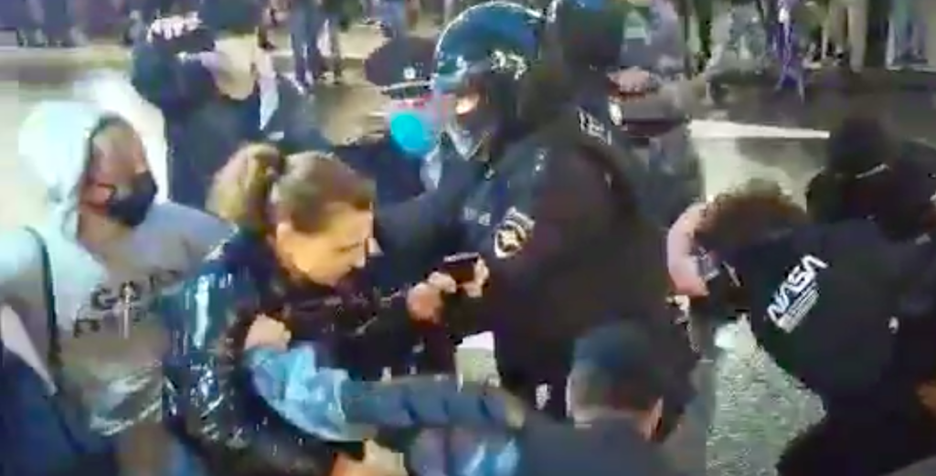 140 Russians Arrested For Protesting Homophobic Putin Power Grab