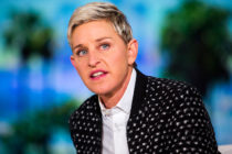 Ellen DeGeneres during a taping of The Ellen DeGeneres Show.