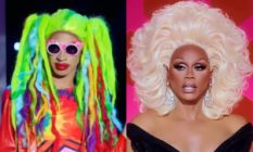 Yvie Oddly and RuPaul