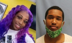 Trevone Miller (R) has been charged by law enforcement in the killing of Brayla Stone, 17. (Facebook/Sherwood Police Department)