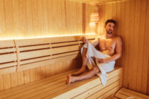 Gay saunas in Britain have begun to gingerly reopen after being devastated by the coronavirus pandemic. (Stock photograph via Elements Envato)