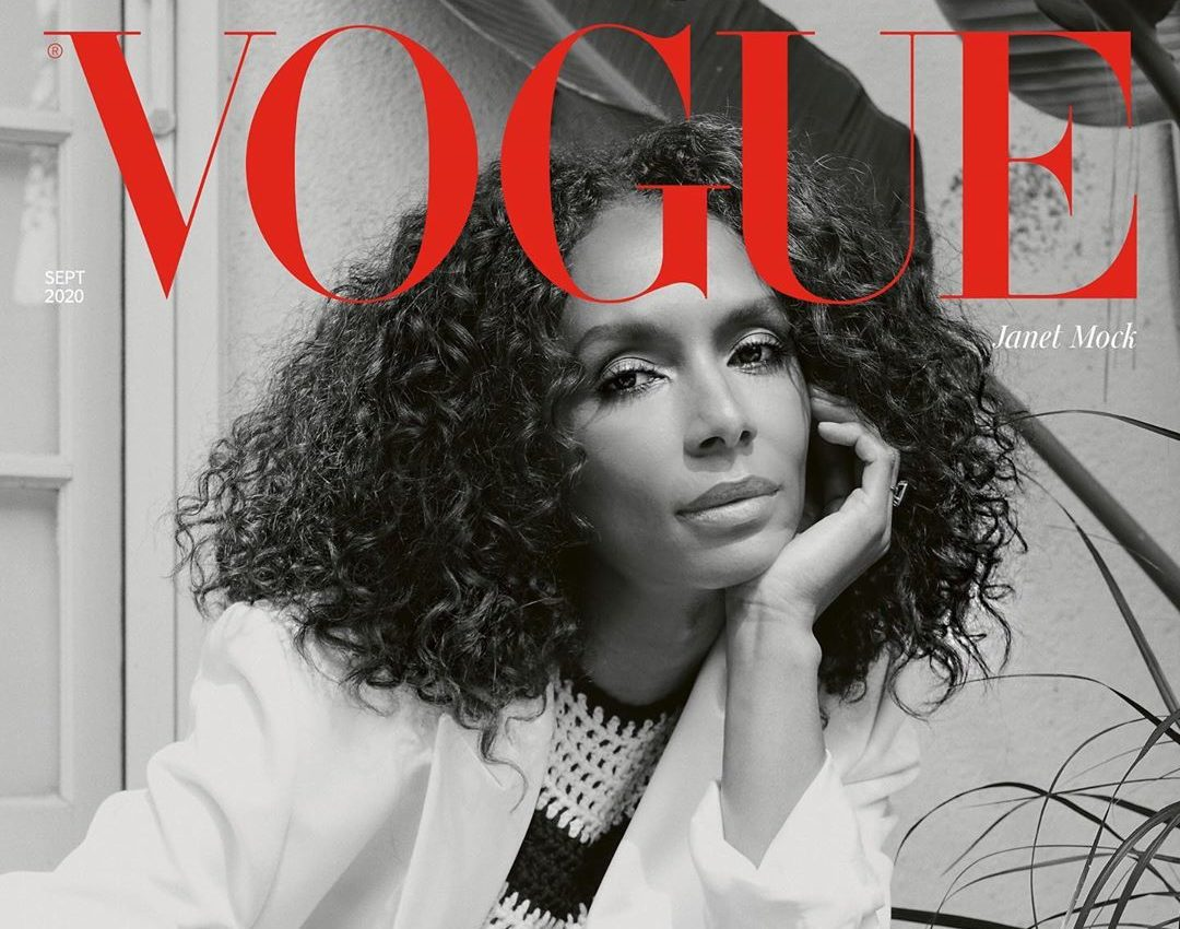 Janet Mock graces the cover of British Vogue for historic September issue