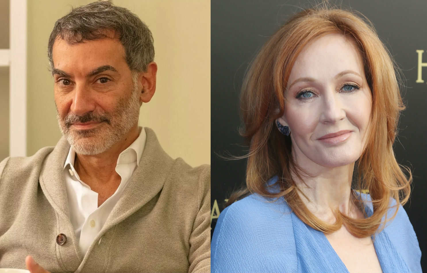 Sex researcher Dr James Cantor and JK Rowling