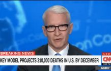 Anderson Cooper breaks down in tears