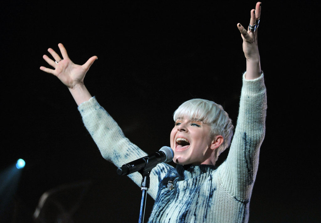Singer Robyn. (Mike Coppola/Getty Images)