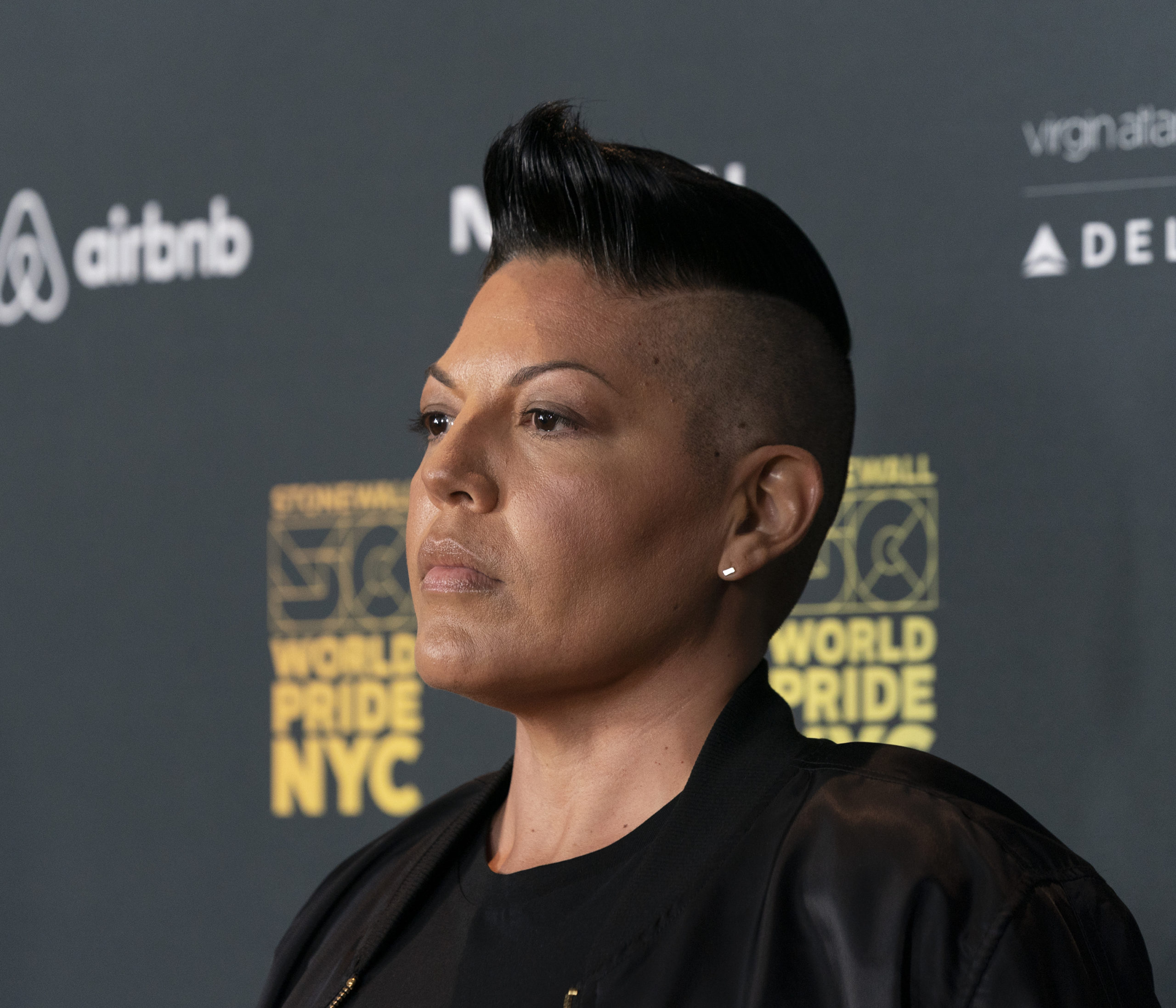 Sara Ramirez. (Lev Radin/Pacific Press/LightRocket via Getty Images)