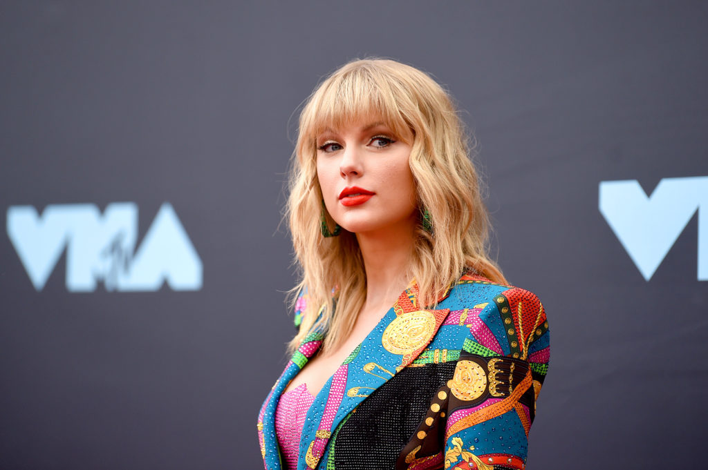 Taylor Swift. (Jamie McCarthy/Getty Images for MTV)