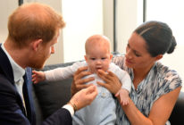 Meghan Markle Prince Harry and Archie