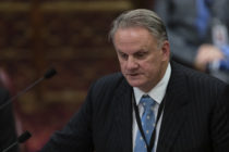Mark Latham speaks in the NSW Upper House