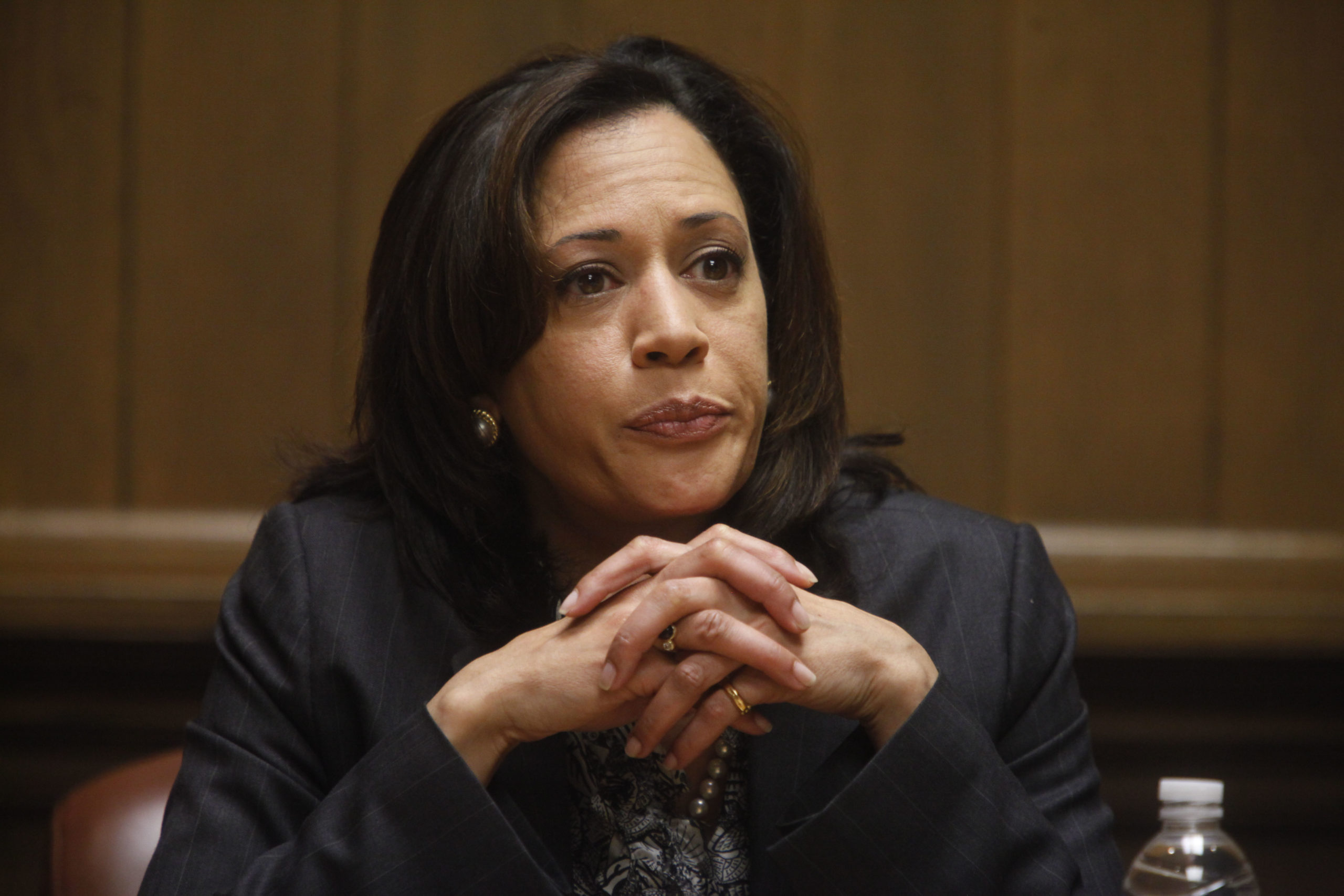 San Francisco District Attorney Kamala Harris during her campaign to become California Attorney General in 2010