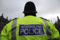 A Metropolitan Police officers alleged to have made 'homophobic' comments on a far-right social media group. (Dan Kitwood/Getty Images)
