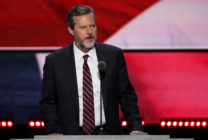 former president of Liberty University, Jerry Falwell Jr