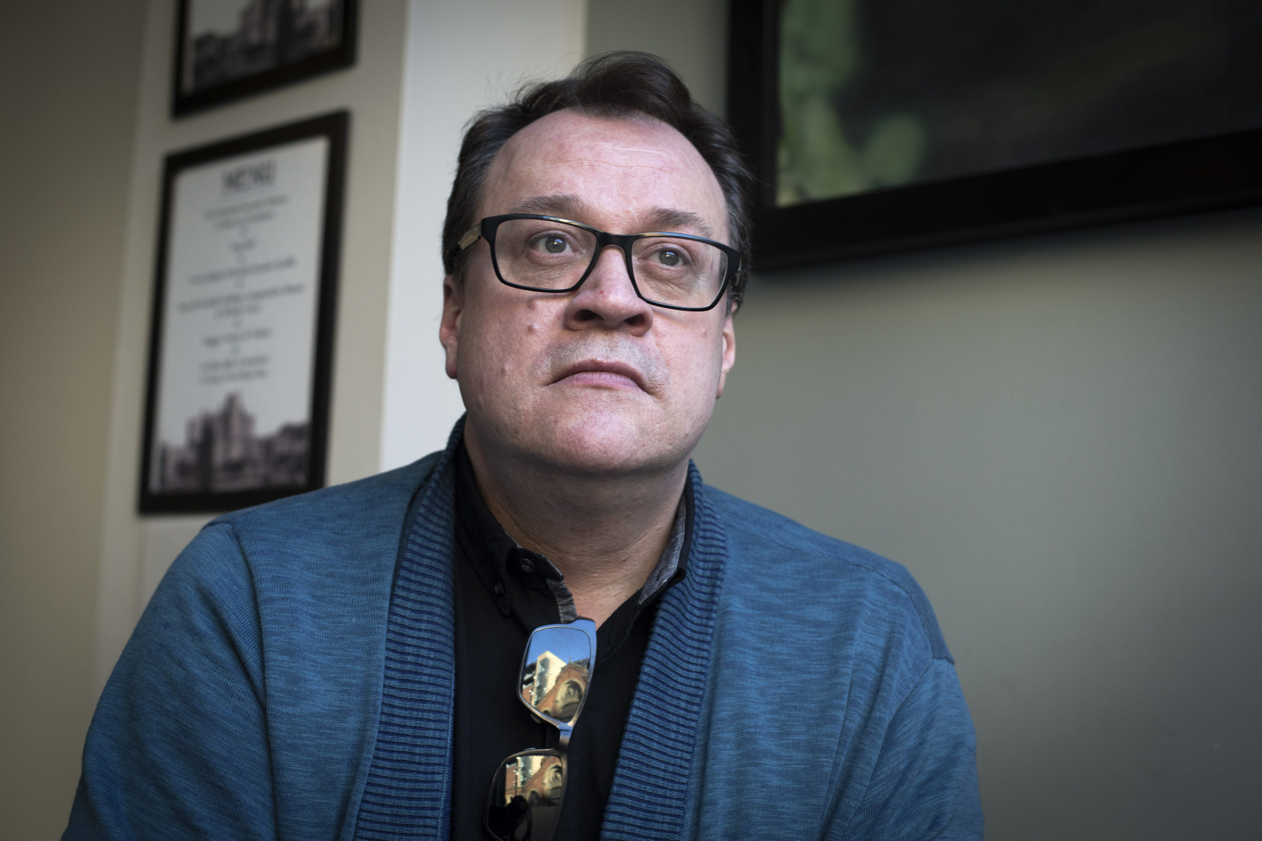 British television screenwriter and director Russell T Davies