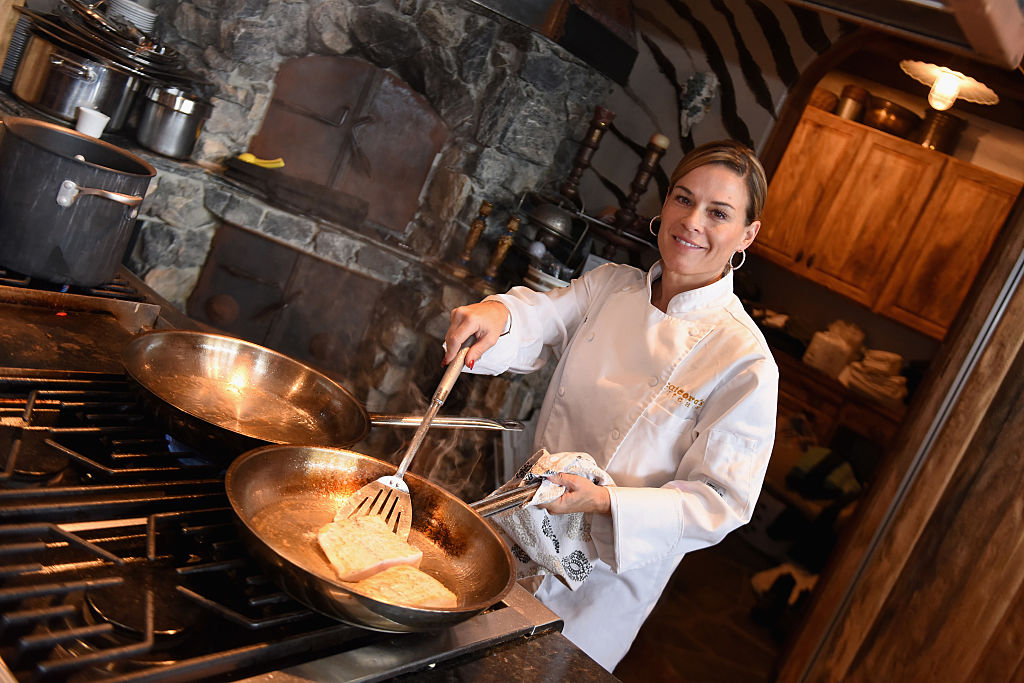 Cat Cora chef lesbian coming out