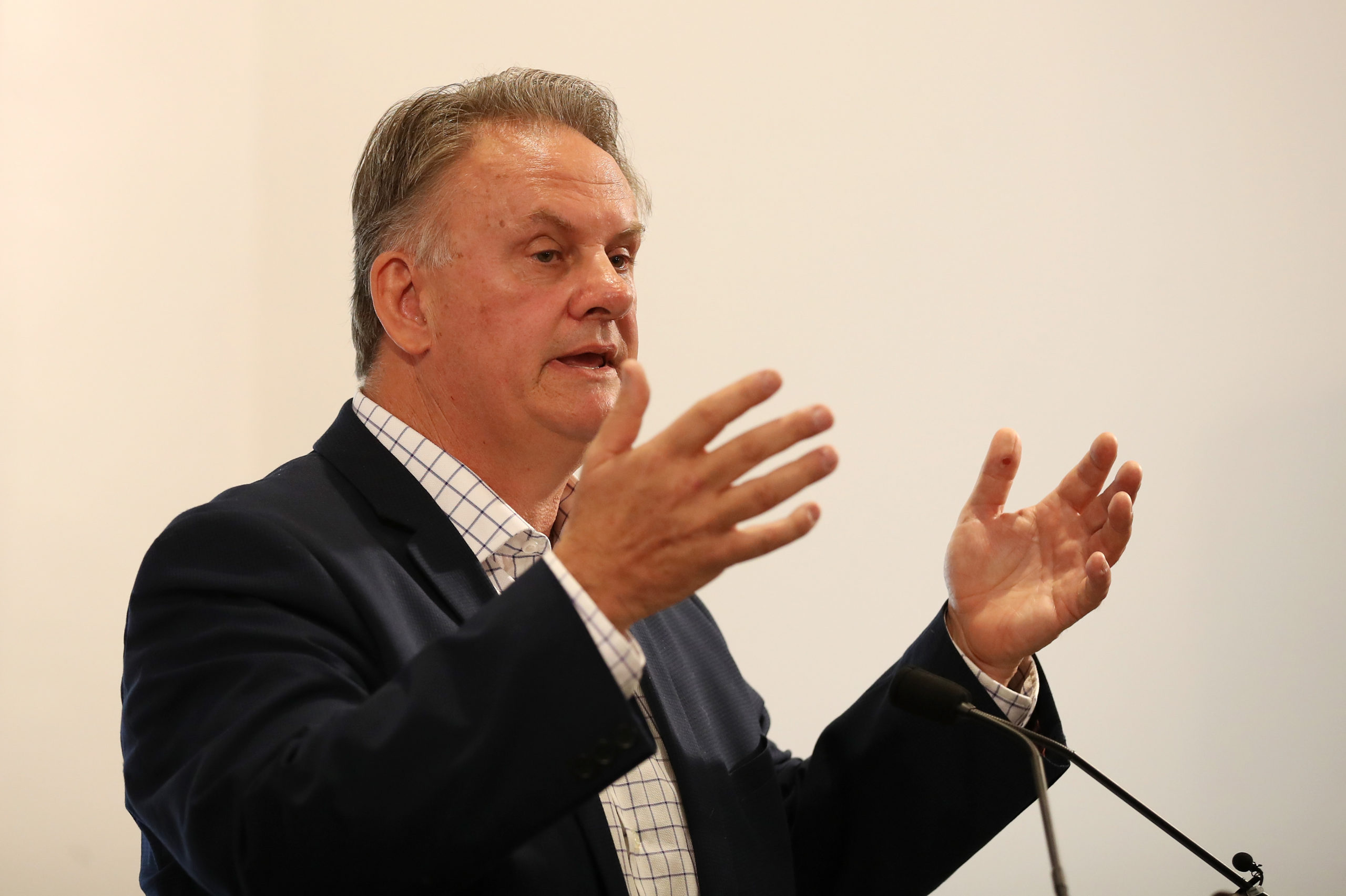 One Nation's Mark Latham is pressing a bill to outlaw 'promotion' of gender ideology