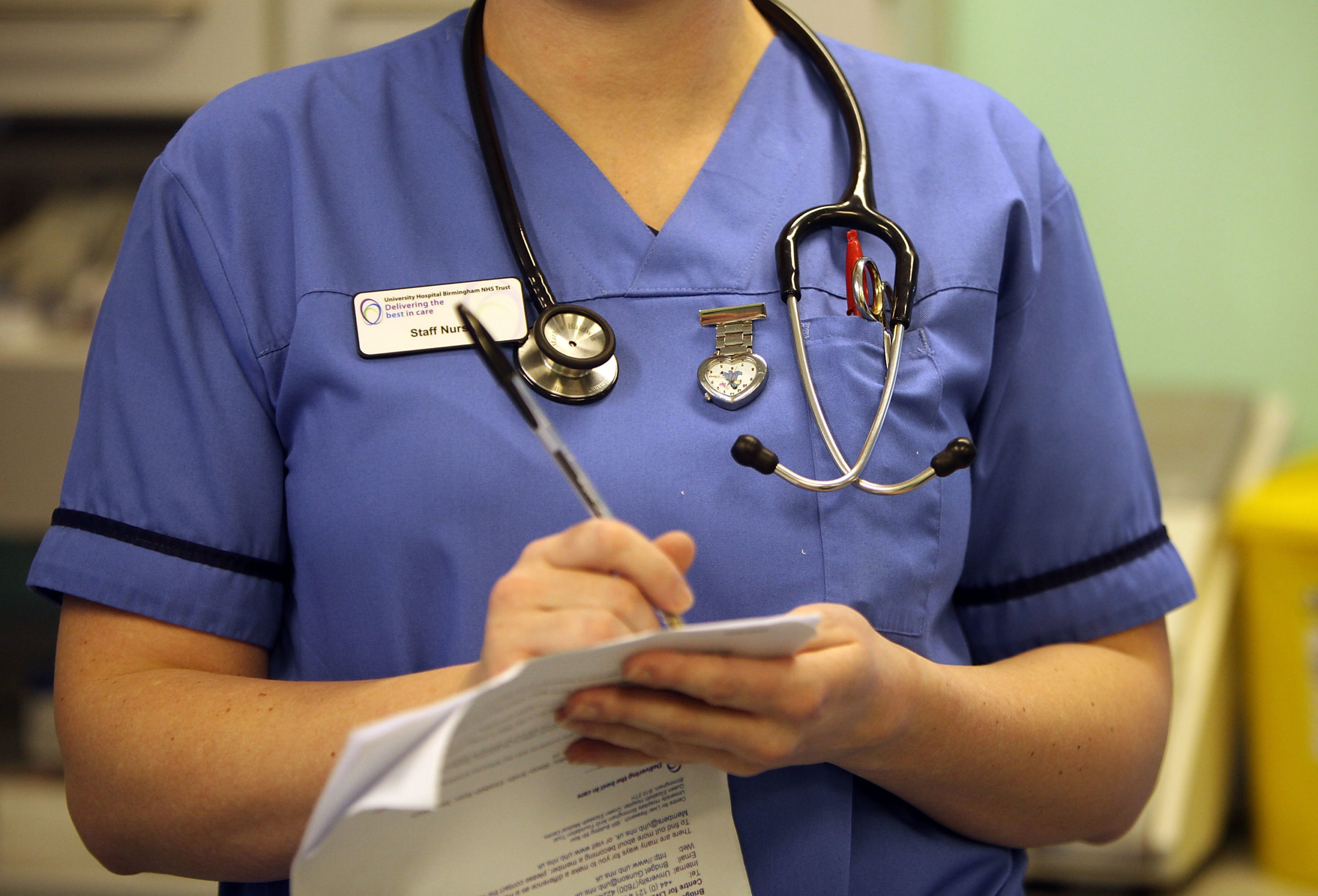 NHS England officials were embroiled in controversy after a document appeared to compare being LGBT+ to being disabled. (Christopher Furlong/Getty Images)