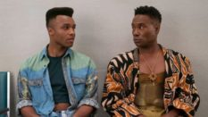 Billy Porter (R) and Dyllon Burnside on Pose. (FX)