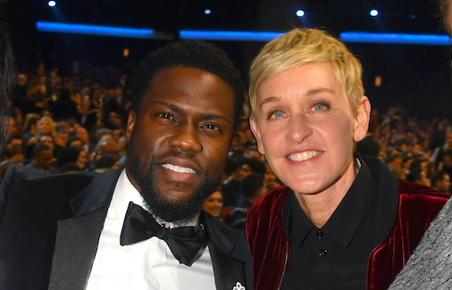 Kevin Hart defends Ellen DeGeneres as 'one of the dopest people'
