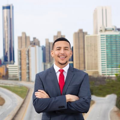 Antonio Brown, made history in 2019 when he became the youngest and first openly bisexual elected member of Atlanta City Council.