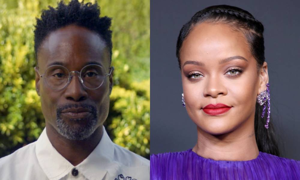 Billy Porter and Rihanna