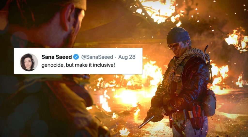 The upcoming Call of Duty came offers players a third gender option. (Call of Duty: Black Ops Cold War/Twitter)