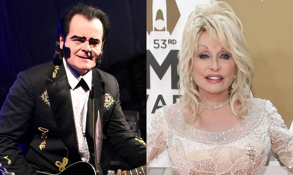 Stuart D Baker and Dolly Parton