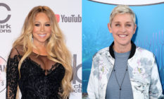 Mariah Carey (L) broke her silence in a recent interview about her time on The Ellen DeGeneres Show. (Getty)