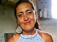 Lorena María del Luján Riquel, a trans woman known by her fellow activists as a caring mother, was found dead by a curtsied tree in Argentina. (Facebook)
