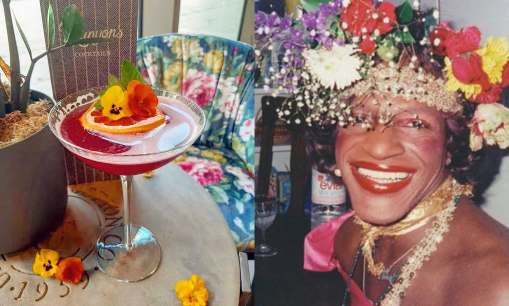 A cocktail by a luxury hotel in England named after Marsha P Johnson became a lightning rod for criticism. (Instagram/Netflix)