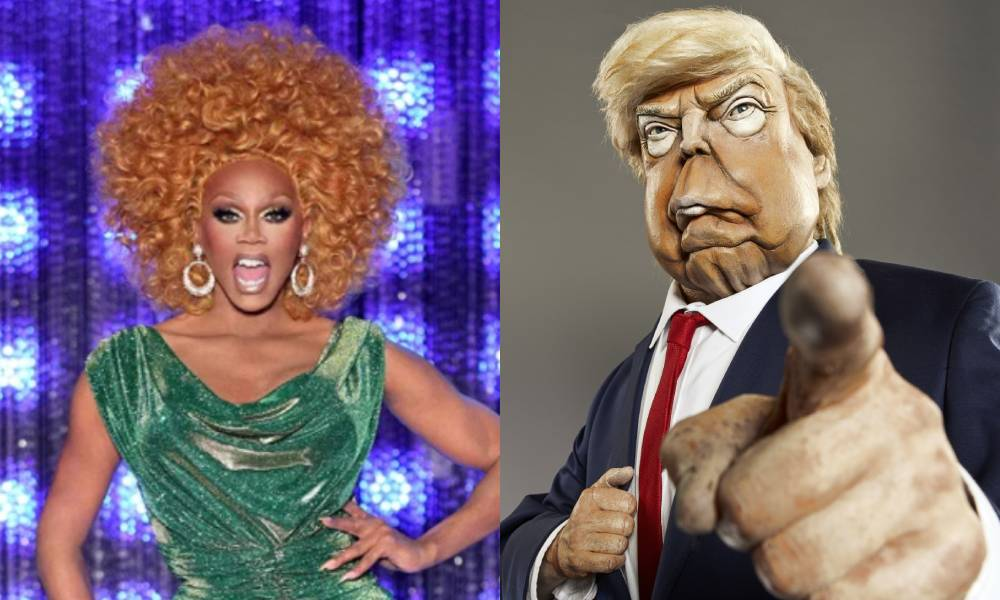 Spitting Image 2020 New Puppets To Be Joined By Rupaul On Britbox
