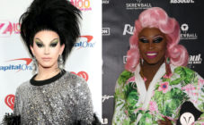 Aquaria (L) 'collapsed with shock' after being Asia O'Hara's botched butterfly reveal. (Getty)