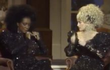 Dolly Parton Patti LaBelle acrylic nails