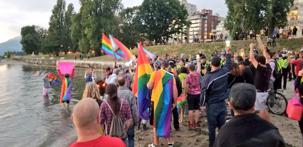 Canada Vancouver alternative pride protest