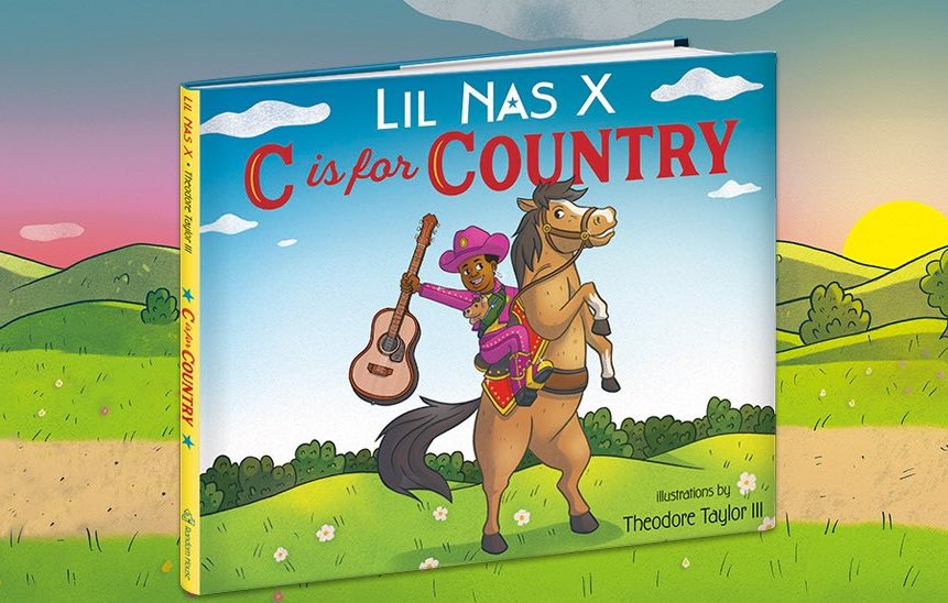 Lil Nas X book C is for Country
