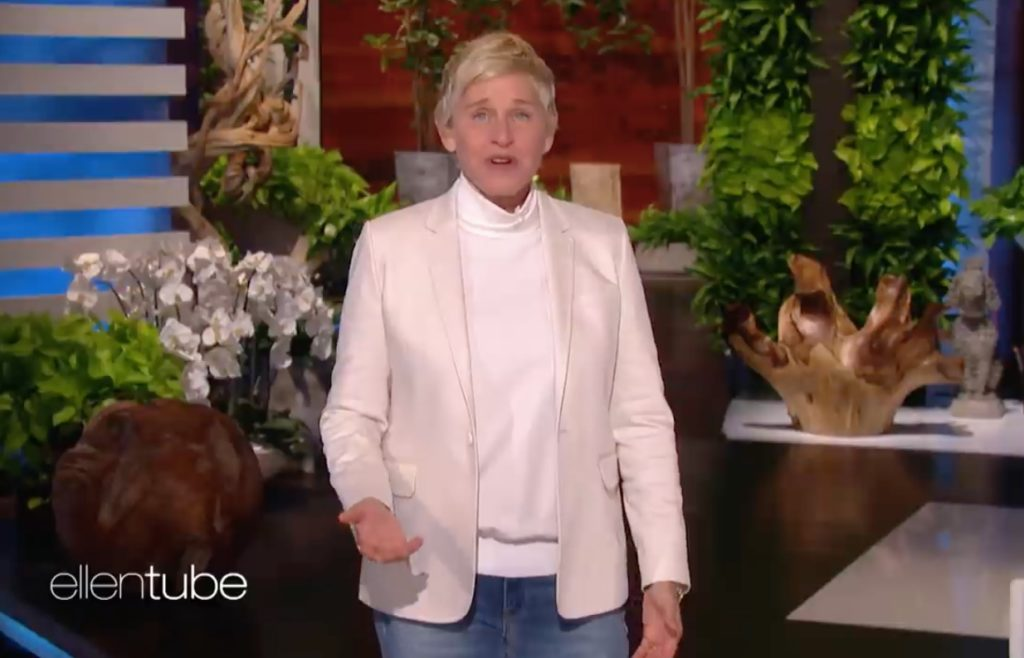Ellen DeGeneres address misconduct allegations