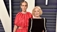 Sarah Paulson and Holland Taylor attend the 2019 Vanity Fair Oscar Party