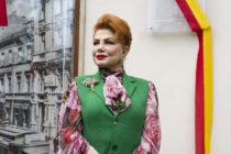 Georgette Mosbacher, Ambassador of the US to Poland. (Attila Husejnow/SOPA Images/LightRocket via Getty Images)