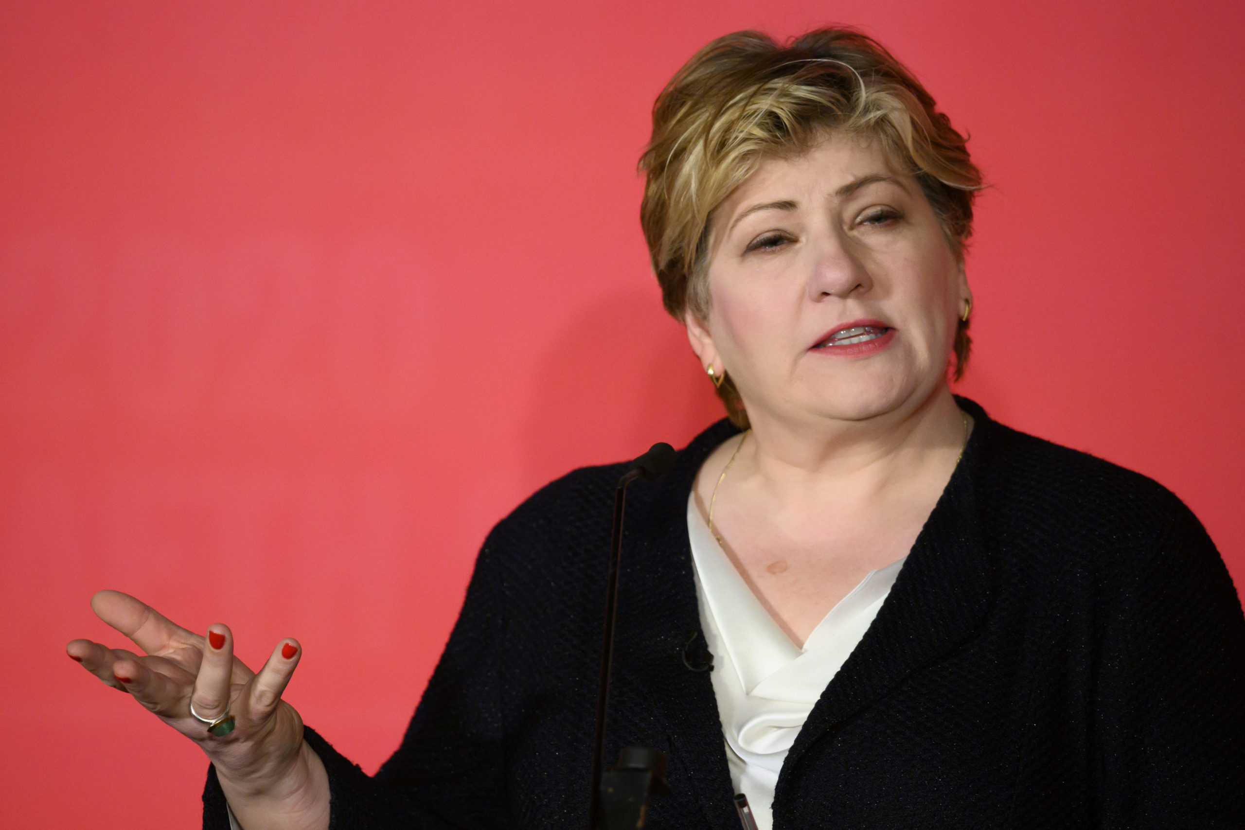 Labour's Emily Thornberry shuts down 'do only women have cervixes' question
