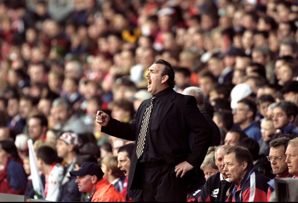 Neville Southall. (Phil Cole/Allsport via Getty Images)