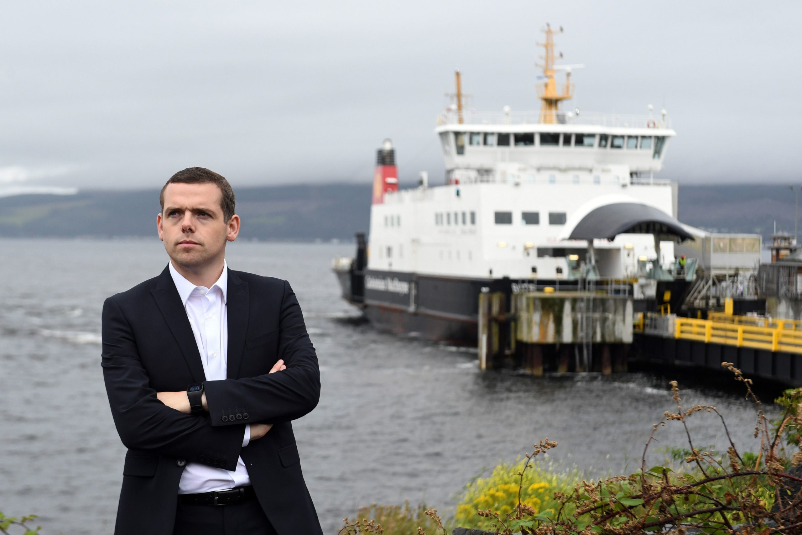 Douglas Ross, the new leader of the Scottish Conservative Party