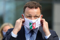 Gay German Health Minister Jens Spahn had led a considered effort to control the coronavirus. While it has netted him approval ratings, he has also become a target of the far-right. (Andreas Rentz/Getty Images)