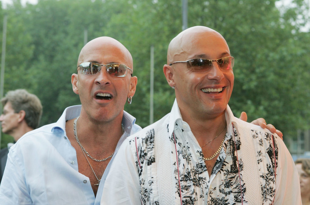 Right Said Fred gloat from London anti-mask, anti-lockdown protest