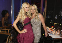 Paris Hilton and Britney Spears. (Chris Polk/FilmMagic)