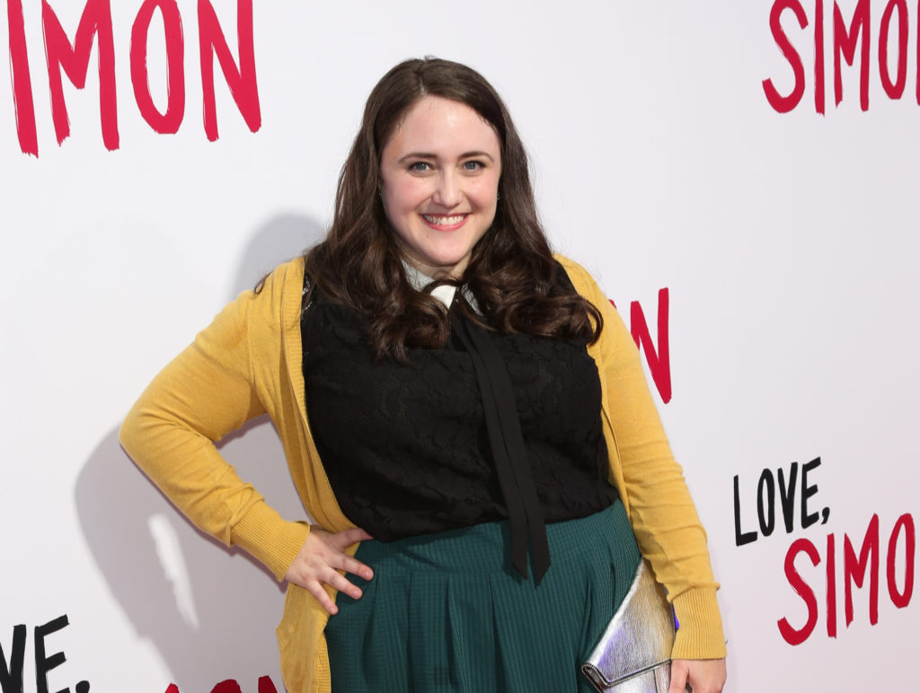 Author Becky Albertalli attends the Love, Simon special screening at the Westfield Century City on March 13, 2018 in Century City, California