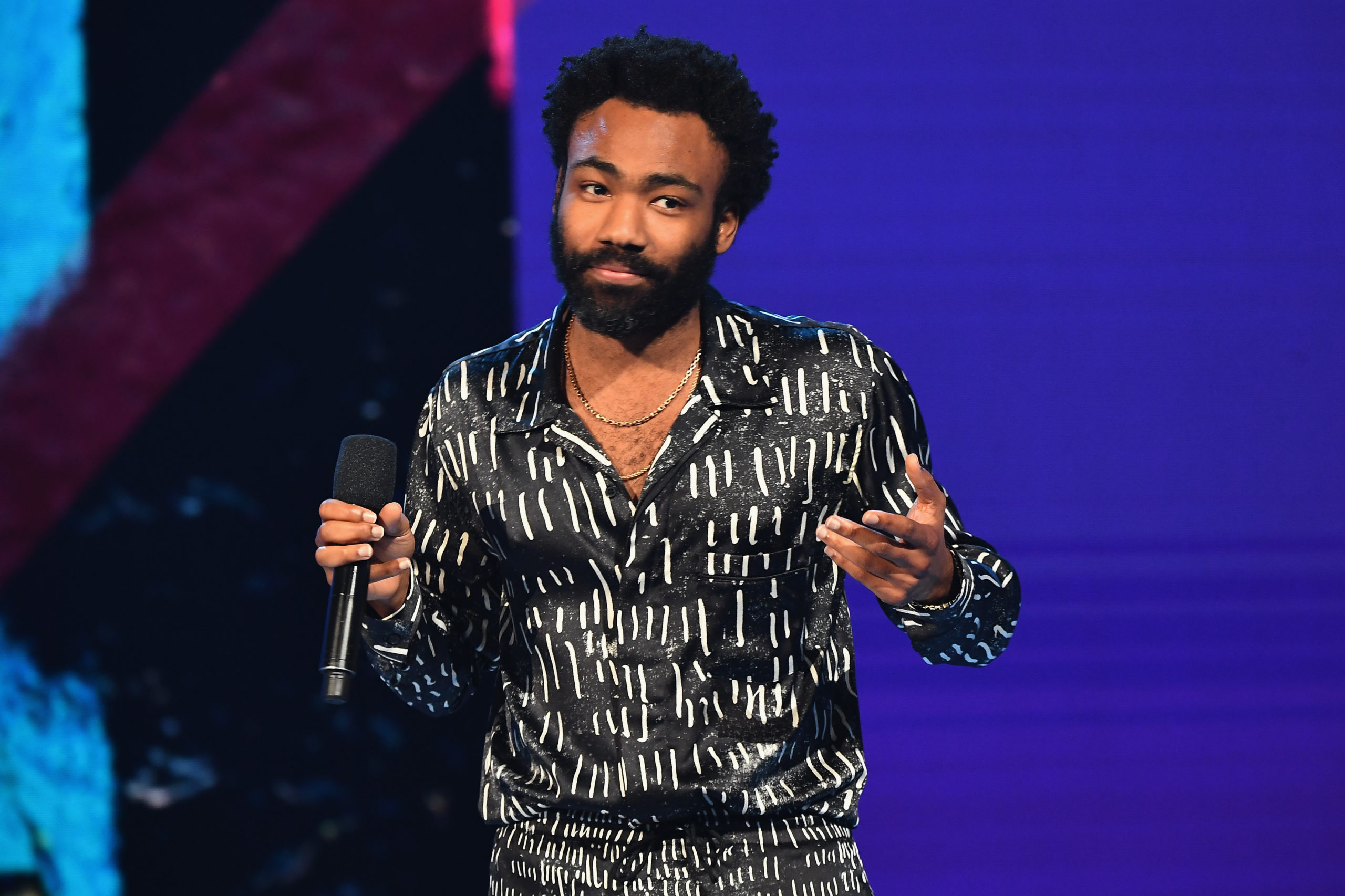 Donald Glover spoke about not wanting to label his sexuality