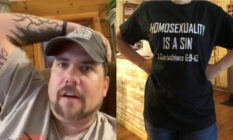 Preacher's daughter suspended for wearing 'homosexuality is sin' t-shirt