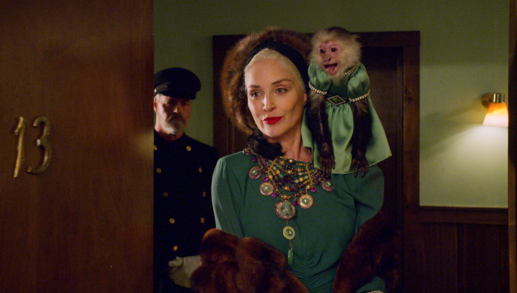 Sharon Stone as Lenore Osgood in Ratched