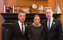 Ruth Bader Ginsburg marries gay couple